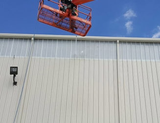 Commercial Building Washing